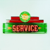LAST CHANCE SERVICE NEON SIGN