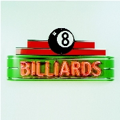 BILLARDS NEON SIGN