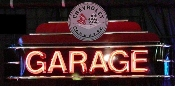 CORVETTE GARAGE NEON SIGN (BLACK)