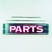 PARTS NEON SIGN