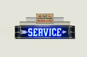 "48"" A&P SERVICE Neon Sign"